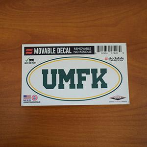 UMFK Oval Sticker