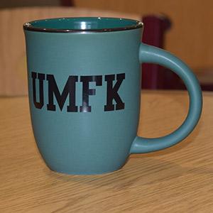 UMFK Green Matte Mug