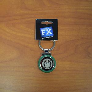 UMFK Green round Key Ring