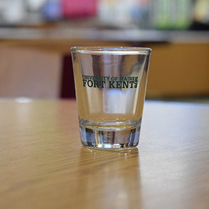 UMFK Shot Glass
