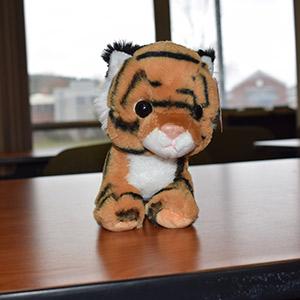 UMFK Stuffed Tiger