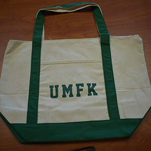 UMFK Zippered Tote Bag