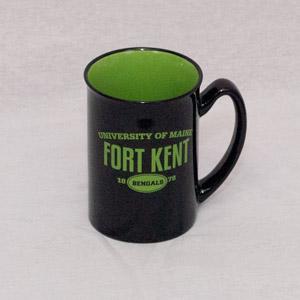 UMFK Black/Green Mug