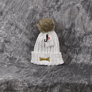 Faux Fir Pom Pom Hat